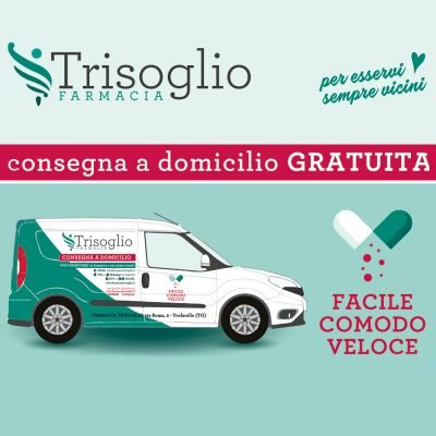 Consegna farmaci a domicilio - Farmacia Trisoglio